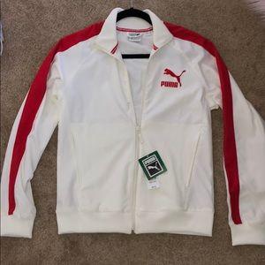Brand new puma zip up jacket